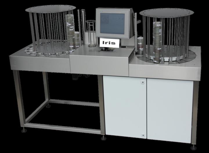 Irina dish handling machine